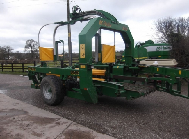 McHale 998 Square bale wrapper - SOLD